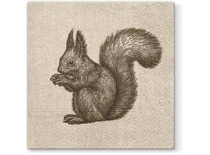 Bilde av Serviett lunsj 20 stk We care Squirrel