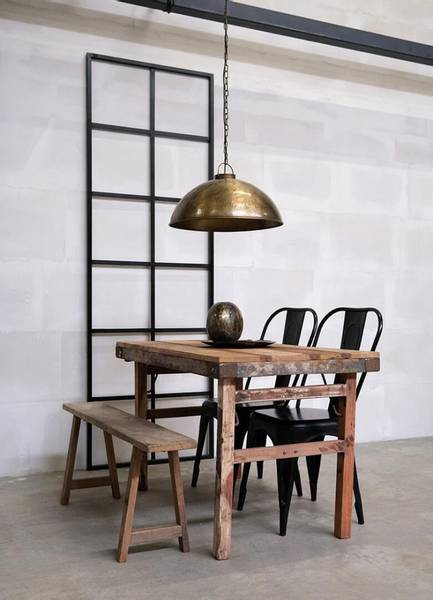 Thormann taklampe - antikk messing