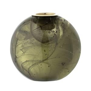 Bilde av Lysestake, Grønt, Glass