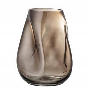 Bilde av Vase, brunt, glass H:26cm